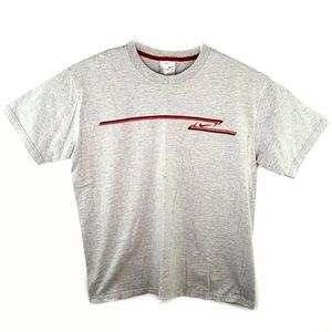 Early 2000s Nike Swoosh T-Shirt Embroidered Logo